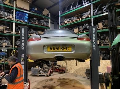 Porsche Boxster 2.7 Engine Porsche Boxster M96.22 Engine SPARE PARTS ONLY