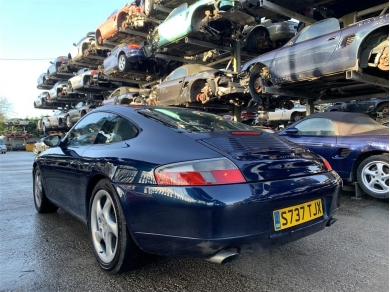 Porsche Carrera 996 3.4 Litre Engine M96.01 Engine Code Serial No. 66W14825