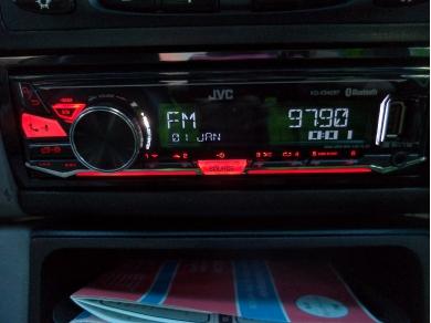 Unbranded JVC KD-X342BT Deckless Bluetooth USB AUX iPhone Car Stereo Radio S737TJX