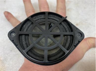 Porsche Boxster 987 Dash Top Speaker Center Middle Speaker P/n.99764503300 99764503300