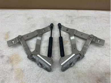Porsche Boxster 986 Boot Hinges PAIR in silver Left & Right 98651215201 98651215101