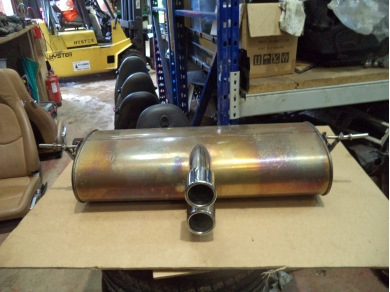 Vauxhall VAUXHALL VX 220 EXHAUST VX220 CLF EXHAUST VX220 SILENCER ALL650041