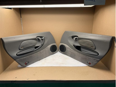 Porsche Boxster 986 Door Cards PAIR in Grey Spare Parts Only (tatty) 97-04 Year 986 996555421Z0