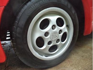 Porsche PORSCHE 944 TELEDIAL WHEELS 944 DIAL WHEELS F80OWL 95136210400