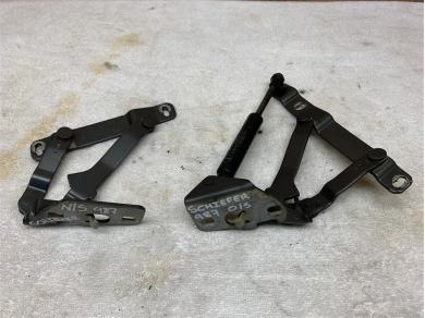 Porsche Boxster 987 Boot Hinges Trunk Hinges PAIR 05 - 08 Year Boxster 987 98751215202