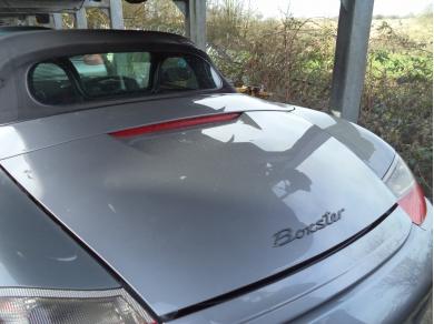 Porsche PORSCHE BOXSTER 986 BOOT LID ARCTIC SILVER DK53WWM 99651201102