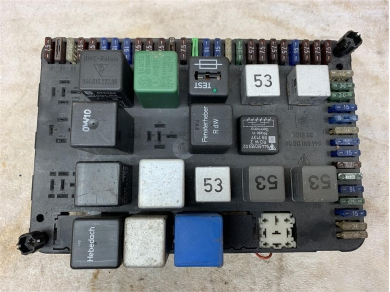 Porsche 944 Fuse Board Porsche 944 Relay Box P/n.94461011000 1990 944S2 Donor 94461011000