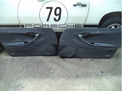 Porsche PORSCHE BOXSTER 986 PAIR OF DOOR CARDS. BOXSTER DOOR CARDS A871YOX