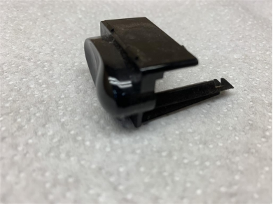 Porsche Boxster 986 Gloss Black Switch Blank 98661342500 986 Button Blank