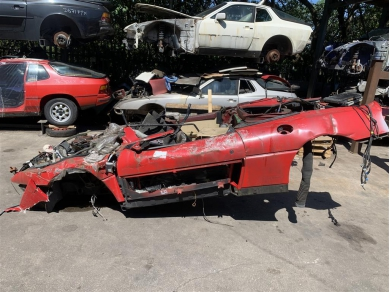 Ferrari F355 Spider Body Shell Remains Ferrari Art Ferrari Man Cave F355 Parts