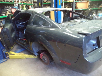 Ford FORD MUSTANG S197 LEFT SIDE UK PASSENGER SIDE REAR QUARTER