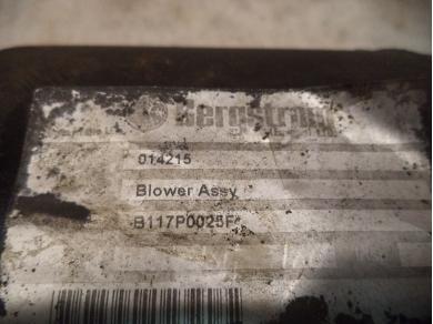 Lotus LOTUS ELISE S2 HEATER BOX B117P0025F SPARE PARTS HEATER BOX MTMT LUTON