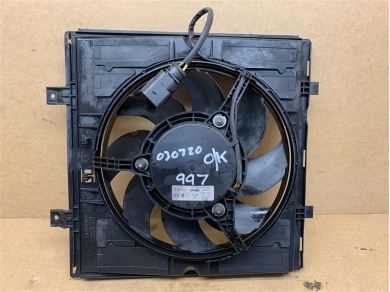 Porsche Boxster 987 Radiator Cooling Fan & Shroud LEFT Side 2005 - 2008 Year 99762403503