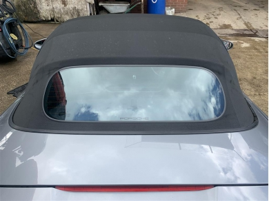 Porsche Boxster Glass Screen Roof Boxster 986 Facelift Roof 2004 Year Black