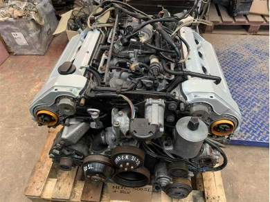 Mercedes-Benz Mercedes 500SL Engine Mercedes SL500 Engine Mercedes R129 Engine 1990 Year