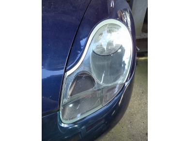 Porsche PORSCHE BOXSTER PASSENGER SIDE HEADLAMP HALOGEN .986 N/S HEADLIGHT T506FUG