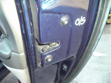 Porsche PORSCHE 996 O/S DOOR LOCK MECHANISM . BOXSTER 986 O/S DOOR LOCK T506FUG