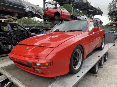 Porsche 944 2.5 Litre 8 Valve Automatic 1986 Year BREAKING FOR PARTS