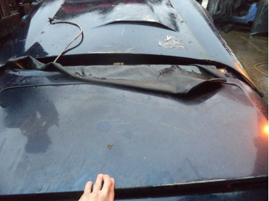 TVR V8 S BOOT LID IN BLUE (BLUE CAR)