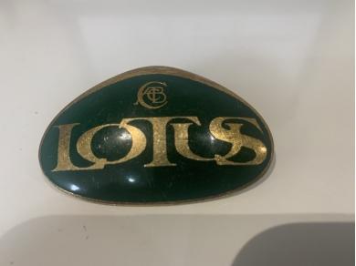 Lotus LOTUS BADGE LOTUS CAR EMBLEM LOTUS GIFT IDEAS