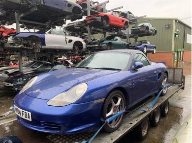 Porsche Boxster 2.7 Engine Porsche M96.23 Engine 2004 Year 83K Miles Spare Parts