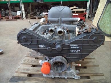 Maserati MASERATI 2.5 BITURBO ENGINE . 1988 MASERATI BITURBO ENGINE HIL4059