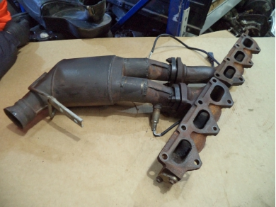 Aston Martin ASTON MARTIN DB7 i6 CATALYTIC CONVERTER . DB7 i6 SINGLE CAT. 35-80-452 SUBST