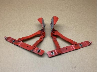Porsche Boxster 986 Guards Red Boot Hinges Matched Pair 1997 - 2004 Year