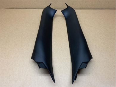 Porsche Boxster Interior Windscreen Vertical Trims Black 986555182R 986555181L 986555182
