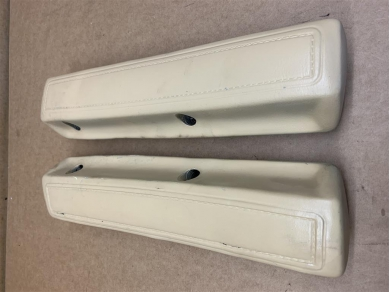 Dodge 1969 Dodge Charger 12 Front Arm Rests In Dukes Tan Paint 1968 - 1969 Year