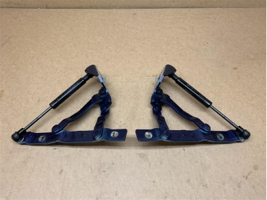 Porsche Boxster 986 Rear Boot Hinges In Blue 1997 - 2004 Year