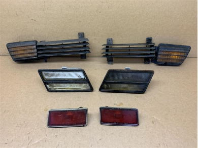 Citroen Corvette C3 Front Lamps & Grills Corvette C3 Used Parts Some Damaged 1982