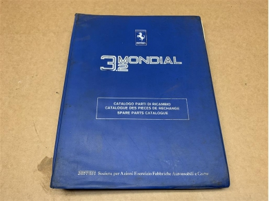 Ferrari FERRARI 3.2 MONDIAL WORKSHOP PARTS MANUAL WORKSHOP PARTS BOOK