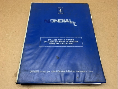 Ferrari FERRARI MONDIAL T WORKSHOP PARTS MANUAL WORKSHOP PARTS BOOK