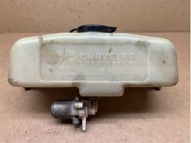 Dodge Charger Wash Bottle Reservoir & Pump 1969 Dodge Charger OEM P/n. 2889807