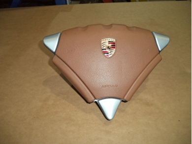 Porsche PORSCHE CAYENNE 955 AIR BAG .CAYENNE 955 MANUAL HAVANNA DRIVERS AIR BAG N66CKO