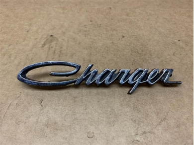 Dodge Charger 1969 Year Rear Badge Rear Lamp Panel Badge 69 Charger Badge OEM 2898929