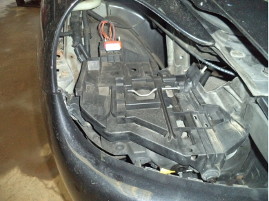 Porsche PORSCHE CAYENNE 955 O/S HEADLAMP TRAY. CAYENNE DRIVER HEADLAMP TRAY N66CKO