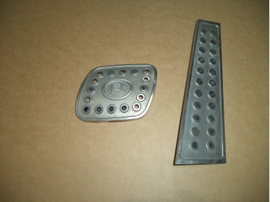 Bentley BENTLEY ARNAGE ALLOY PEDAL COVERS . BENTLEY ALLOY PEDALS UNDERMISC