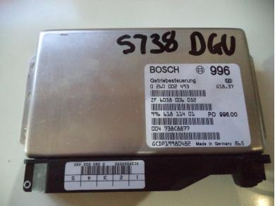 Porsche PORSCHE 996 3.4 TIPTRONIC GEARBOX ECU 996.618.114.01 S738 DGU MT (UPSTAIRS) GBOX