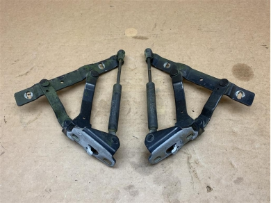 Porsche Boxster 986 Boot Hinges In Black 1996 - 2004 Year