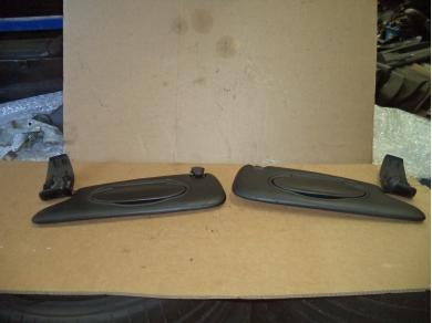 Porsche PORSCHE BOXSTER 986 SUN VISORS. BOXSTER BLACK ILLUMINATED SUNVISORS BITURBO