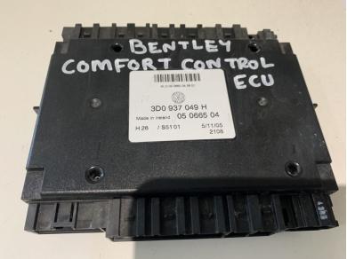 Bentley BENTLEY COMFORT CONTROL ECU 3D0 937 049 H JJ