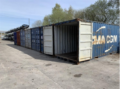 Unbranded 20 FOOT SHIPPING CONTAINER STORAGE IN WIGAN WN6
