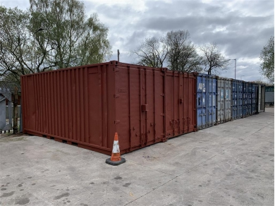 Unbranded 20 FOOT SHIPPING CONTAINER STORAGE IN CHORLEY WN6