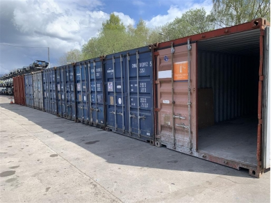 Unbranded 20 FOOT SHIPPING CONTAINER STORAGE IN LEYLAND WN6