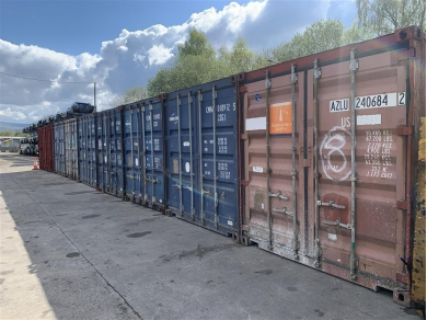 Unbranded 20 FOOT SHIPPING CONTAINER STORAGE IN ASPULL WN6