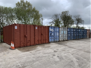 Unbranded 20 FOOT SHIPPING CONTAINER STORAGE IN BUCKSHAW WN6