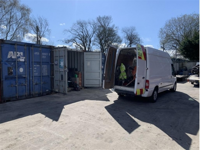 Unbranded CONTAINER STORAGE IN STANDISH WN6 AREA CONTAINER STORAGE IN COPPULL