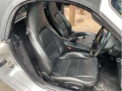 Porsche Boxster Black Leather Seats Porsche Crested Seats Porsche 996 Seats Black